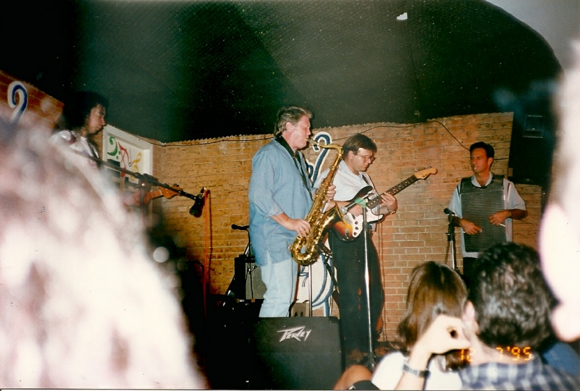 With Rolling Stones Sax Player legend Bobby Keys